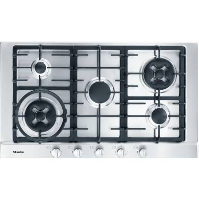 Miele H35xW900xD520 Gas Hob- Stainless Steel