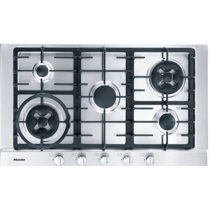 Miele H35xW900xD520 Gas Hob- Stainless Steel primary image
