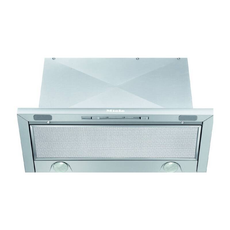Miele H385xW595xD275 Slimline Canopy Hood - Stainless Steel primary image