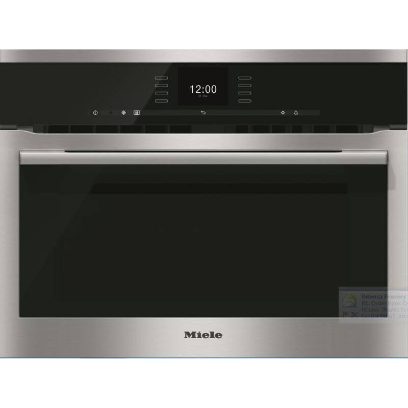 Miele H446xW595xD542 Built-In Single Oven With Microwave primary image