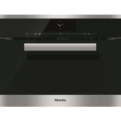 Miele H446xW595xD542 Microwave Combination Oven - Stainless Steel