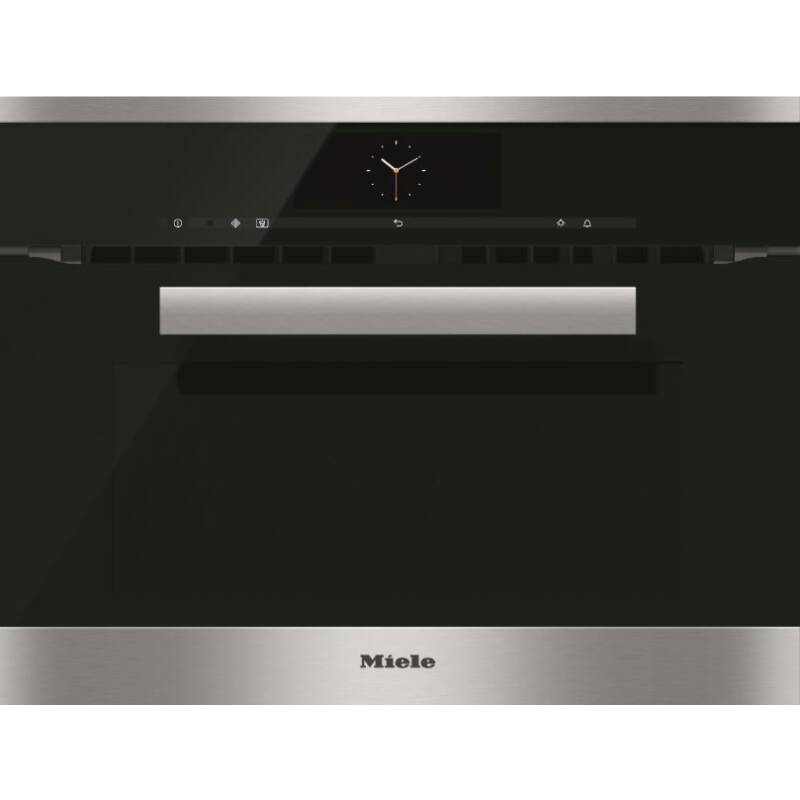 Miele H446xW595xD542 Microwave Combination Oven - Stainless Steel primary image