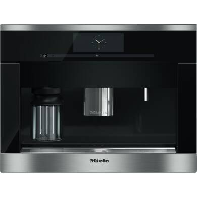 Miele H452xW595xD496 Built-in Coffee Machine - Stainless Steel