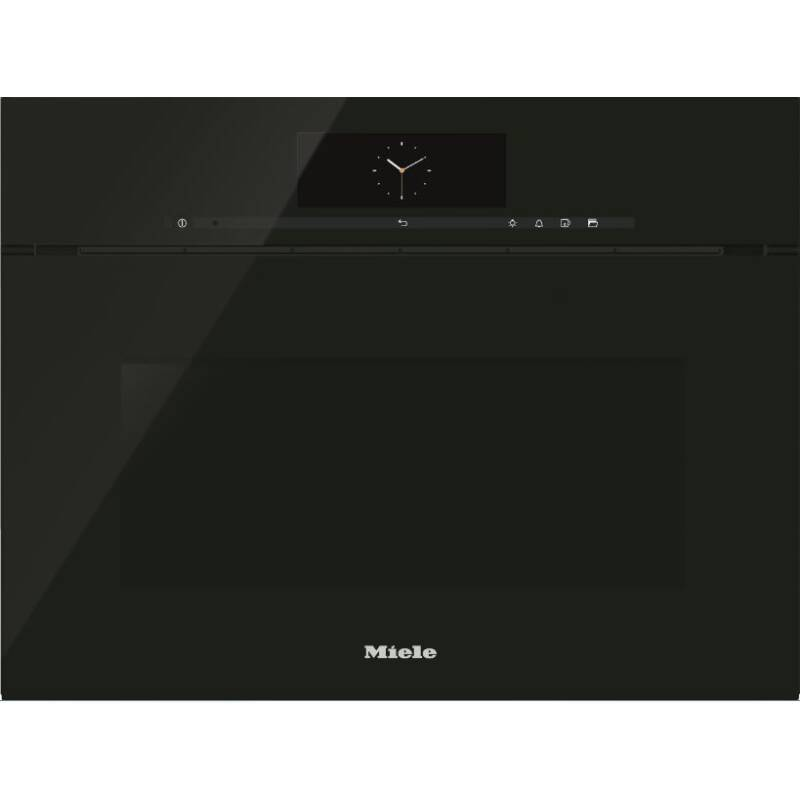 Miele H456xW595xD570 Steam Combination Oven - Obsidian Black primary image