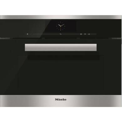 Miele H456xW595xD570 Steam Combination Oven - Stainless Steel