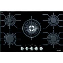 Miele H46xW806xD526 5 Zone Glass Gas Hob