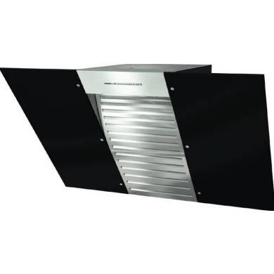Miele H547xW898xD523 Flyer Wall Hood - Obsidian Black