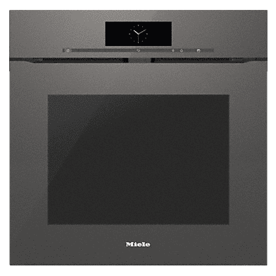 Miele H579xW554xD547 Pyrolytic Single Oven - Graphite Grey