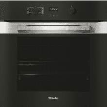 Miele H579xW554xD547 Single Oven - Clean Steel