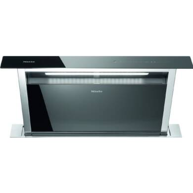 Miele H646xW916xD262 Downdraft Extractor - Black Glass