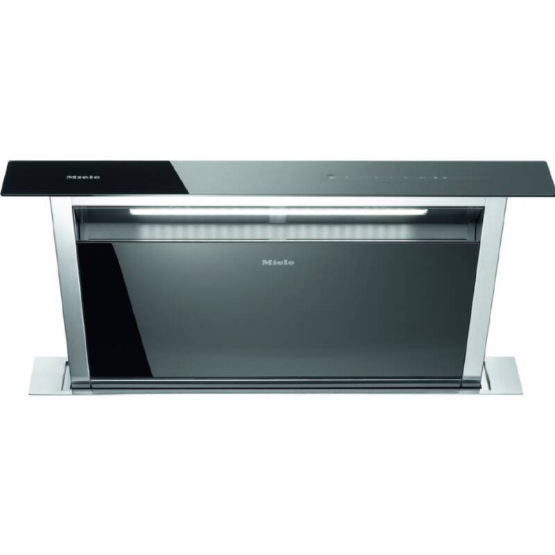 Miele H646xW916xD262 Downdraft Extractor - Black Glass primary image