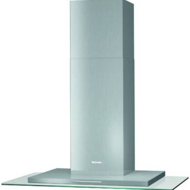 Miele H660xW893xD520 Wall Decor Hood - Stainless Steel