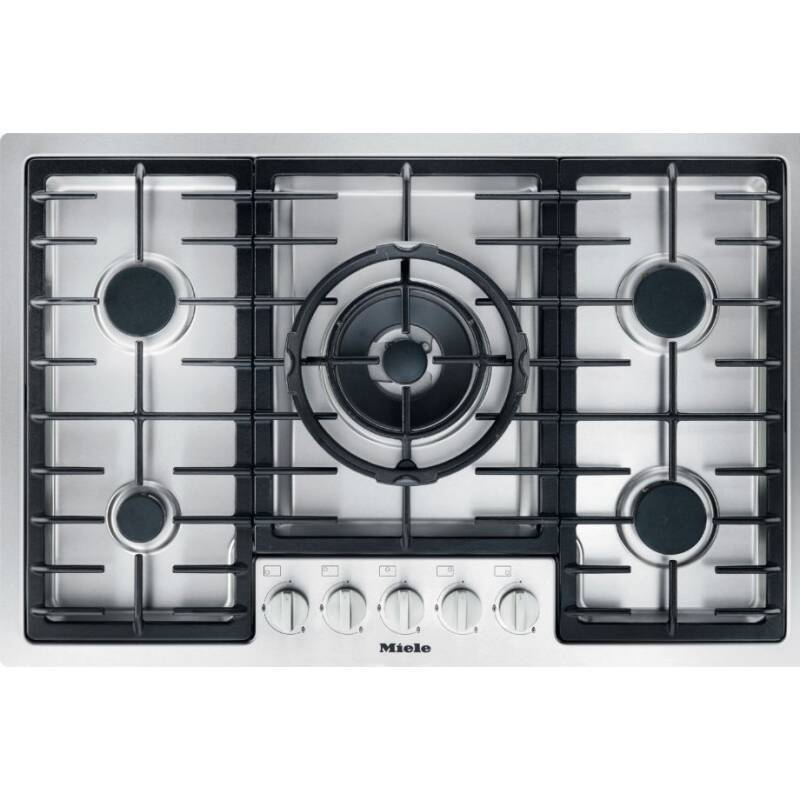 Miele H75xW774xD512 Gas Hob - Stainless Steel primary image