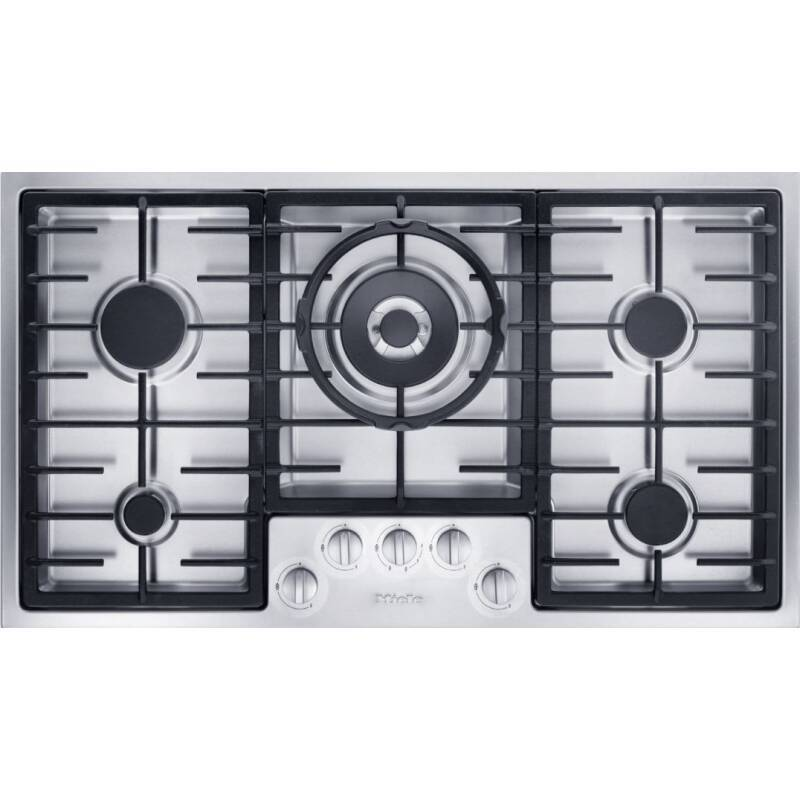 Miele H75xW888xD508 Gas Hob - Stainless Steel primary image