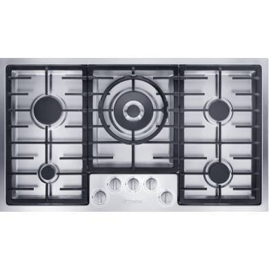 Miele H77xW892xD512 Gas Hob- Stainless Steel