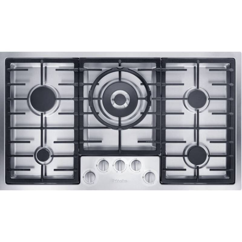 Miele H77xW892xD512 Gas Hob- Stainless Steel primary image