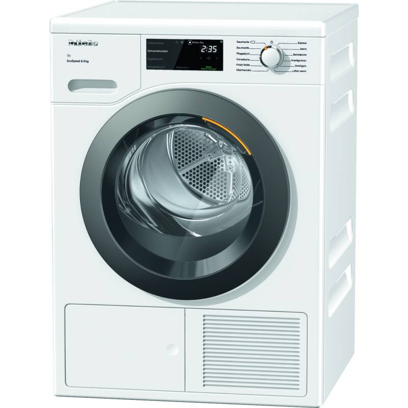 Miele H850xW596xD643 8kg Freestanding Dryer primary image