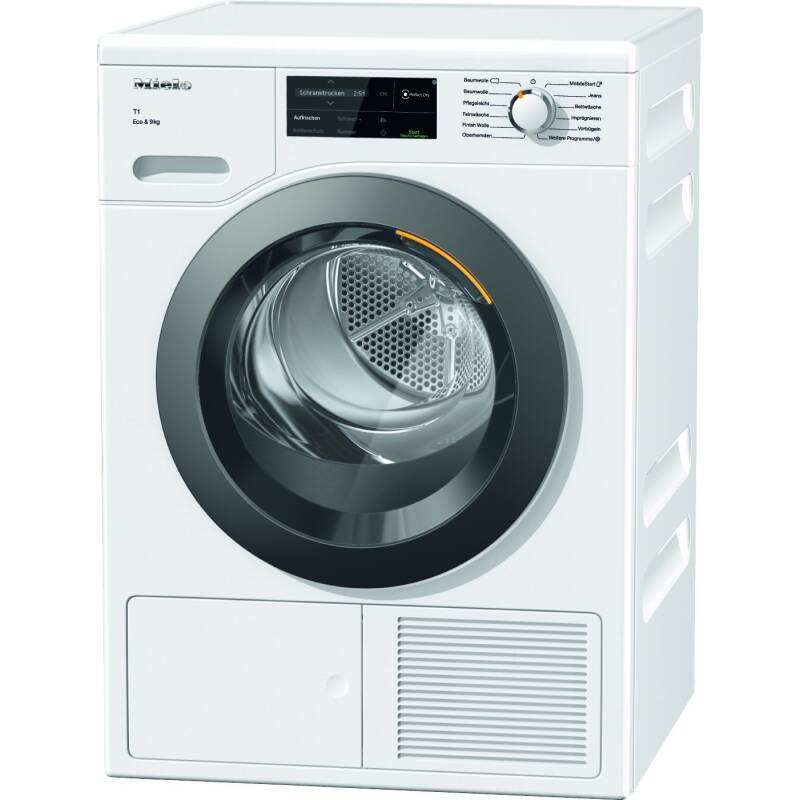 Miele H850xW596xD643 9kg Freestanding Dryer primary image