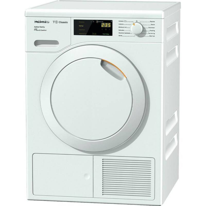 Miele H850xW598xD636 8kg Free Standing Heat Pump Tumble Dryer primary image