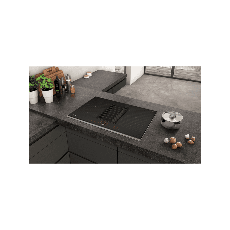 Neff H197xW826xD546 Flexinduction 4 Zone Venting Hob - Black additional image 2