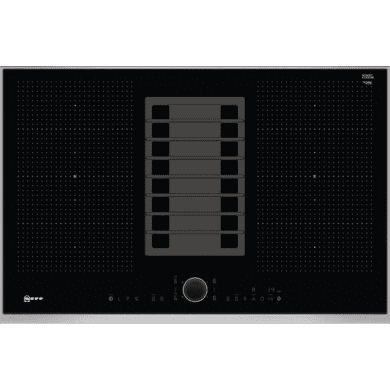 Neff H197xW826xD546 Flexinduction 4 Zone Venting Hob - Black