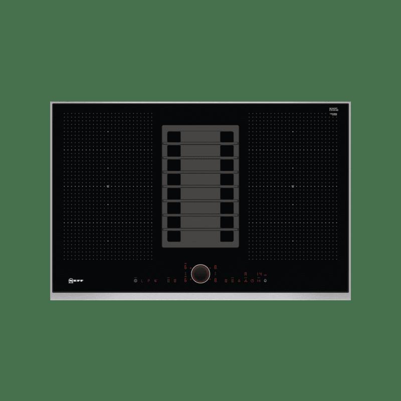 Neff H197xW826xD546 Flexinduction 4 Zone Venting Hob - Black primary image
