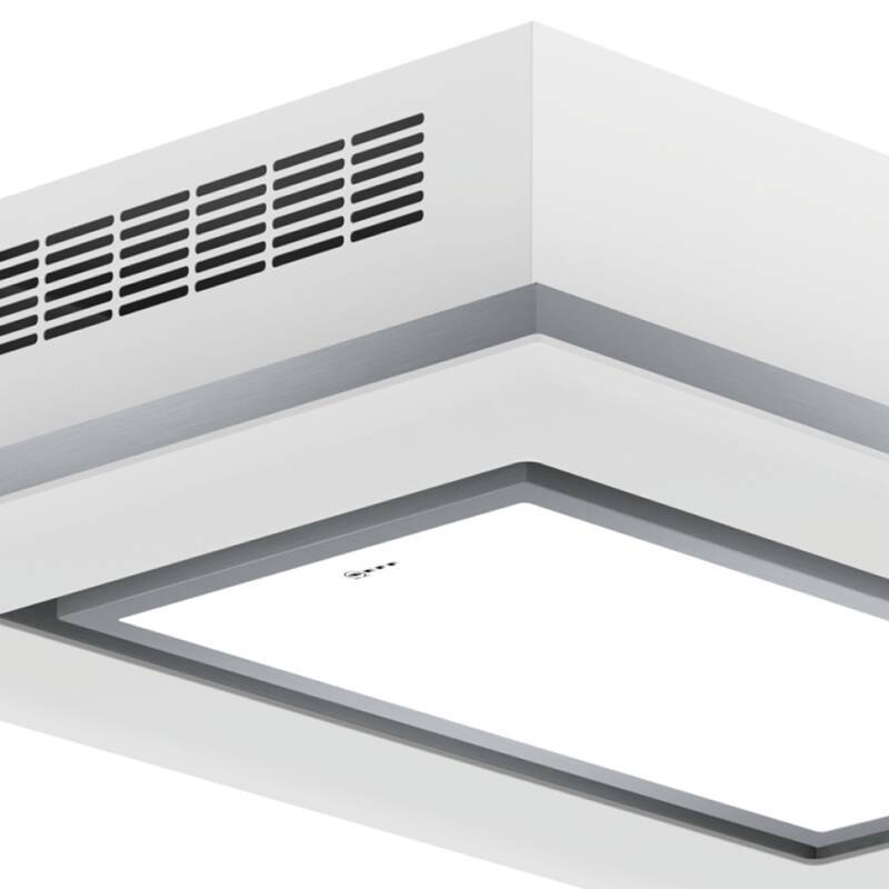 Neff H245xW1000xD700 Ceiling Extractor - White Glass additional image 1