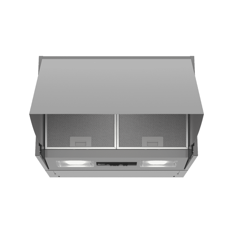 Neff H402xW599xD271 Integrated Hood - Stainless Steel primary image