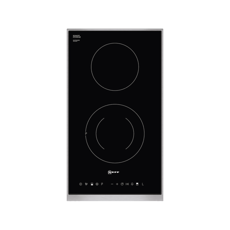 Neff H44xW306xD546 Domino ceramic Hob-Black primary image