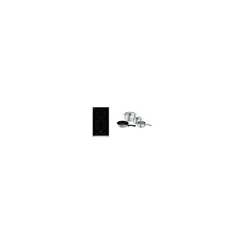 Neff H44xW306xD546 Domino Induction Hob-Black primary image