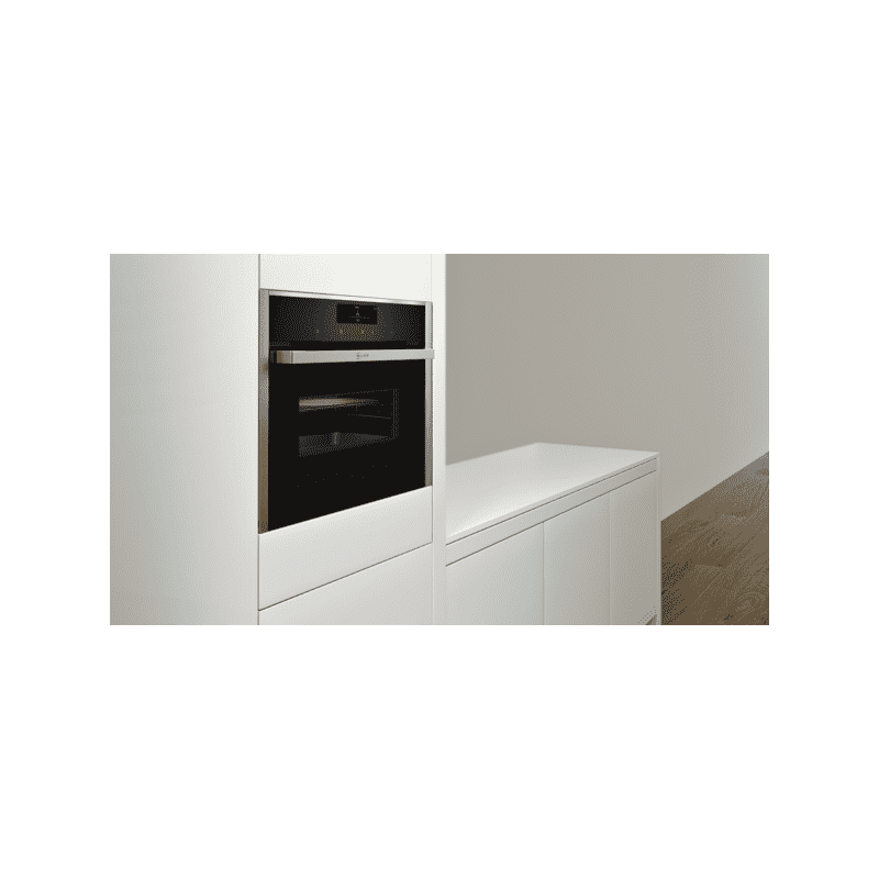Neff H455xW595xD548 Compact Combi Microwave Oven - Stainless Steel additional image 1