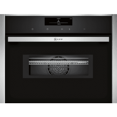 Neff H455xW595xD548 Compact Combi Microwave Oven - Stainless Steel