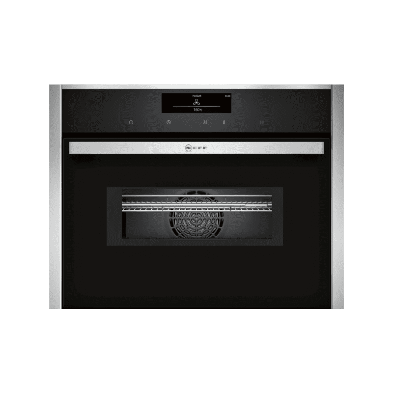 Neff H455xW595xD548 Compact Combi Microwave Oven - Stainless Steel primary image