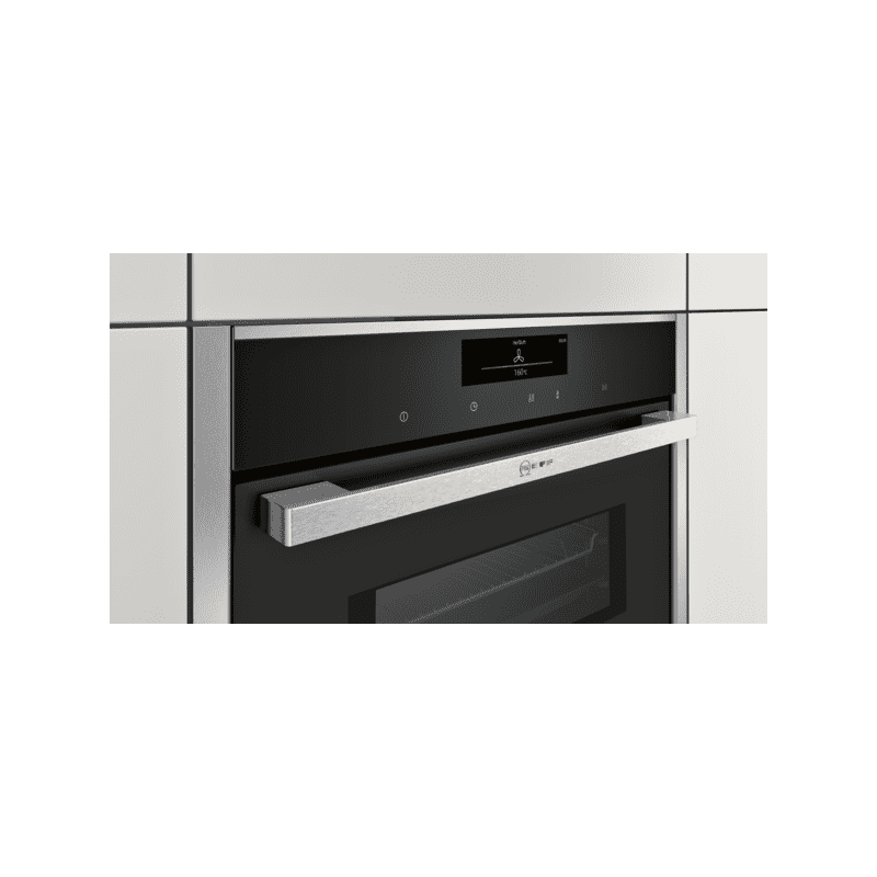 Neff H455xW595xD548 Compact Combi Microwave Oven - Stainless Steel additional image 2