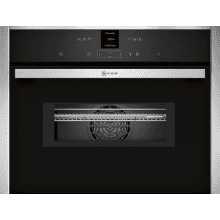 Neff H455xW595xD548 N70 45L Compact Combi Microwave Oven - Stainless Steel