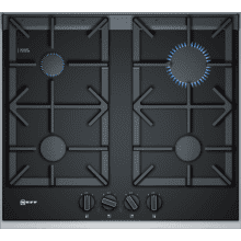Neff H45xW606xD546 Gas on Glass 4 Burner Hob With FlameSelect