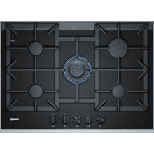 Neff H45xW750xD546 Gas on Glass 5 Burner Hob With FlameSelect