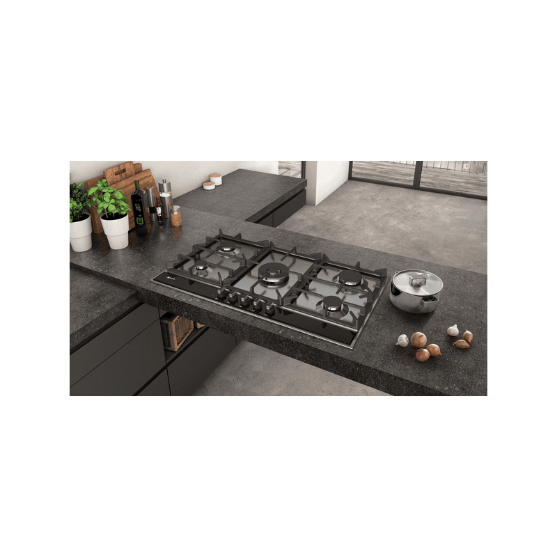 Neff H45xW915xD520 Gas 5 Burner Hob With FlameSelect-S/Steel additional image 2