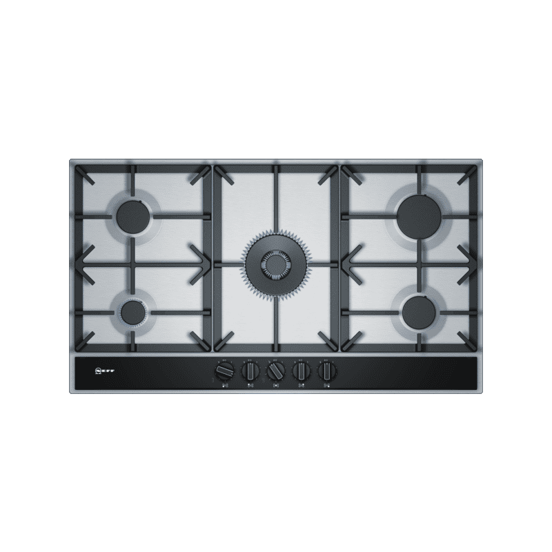 Neff H45xW915xD520 Gas 5 Burner Hob With FlameSelect-S/Steel primary image