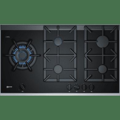 Neff H45xW918xD546 Gas 5 Burner Hob With FlameSelect-Black