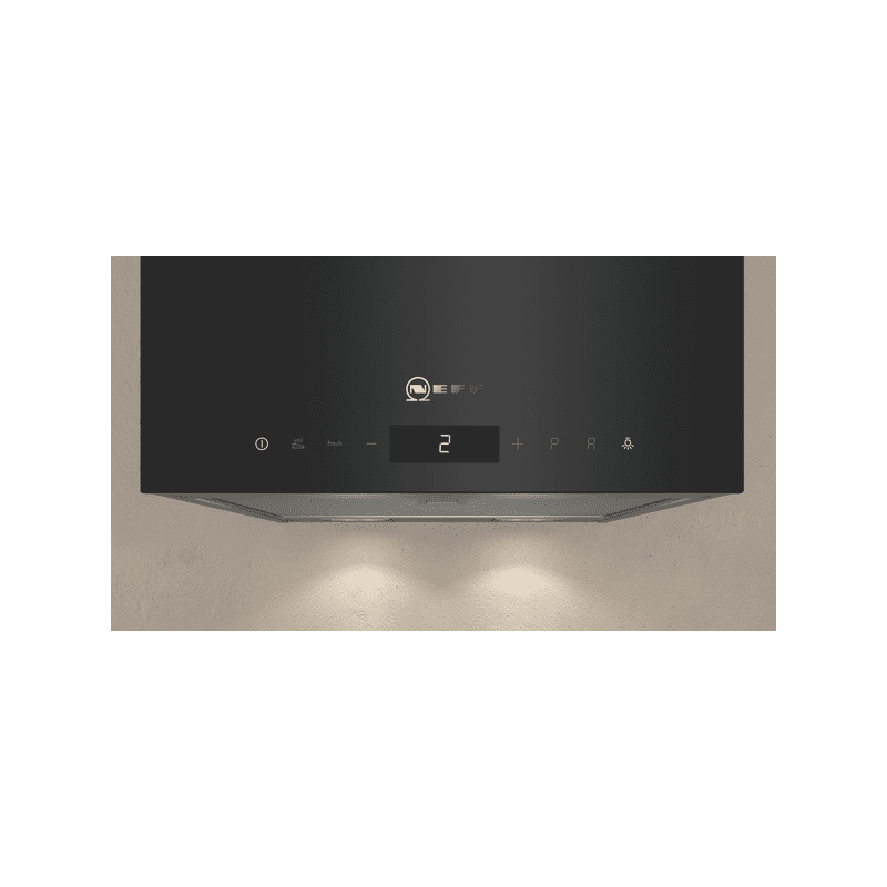 Neff H501xW330xD291 Cube Chimney Hood - Black additional image 3