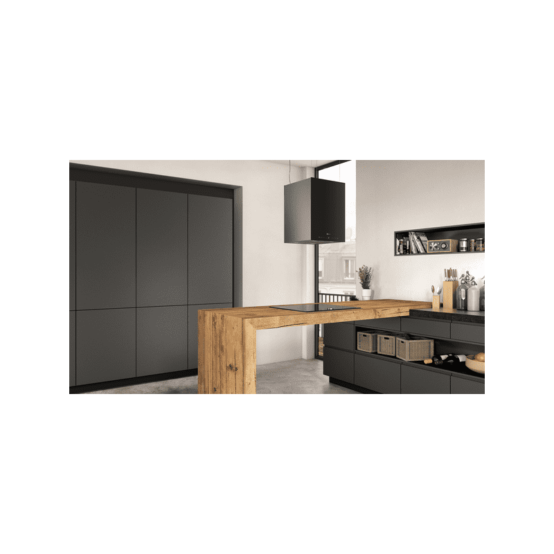 Neff H501xW370xD377 Island Cube Hood-Black additional image 1