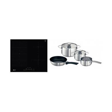 Neff H51xW592xD522 FlexInduction 4 Zone Hob - Black