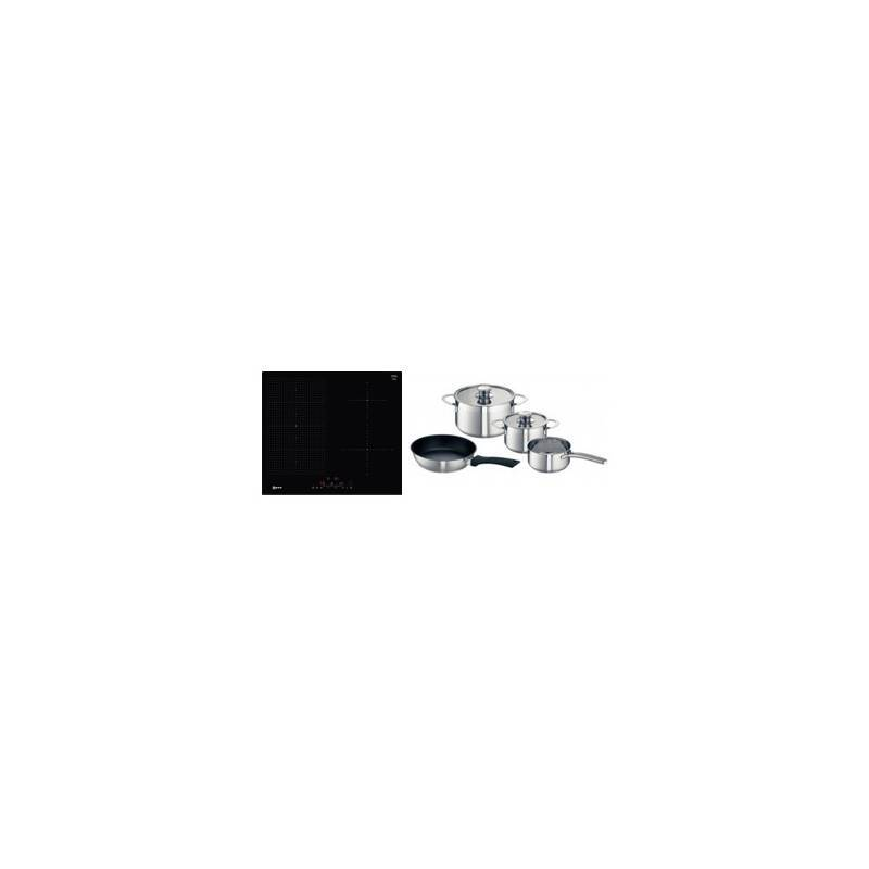 Neff H51xW592xD522 FlexInduction 4 Zone Hob - Black primary image
