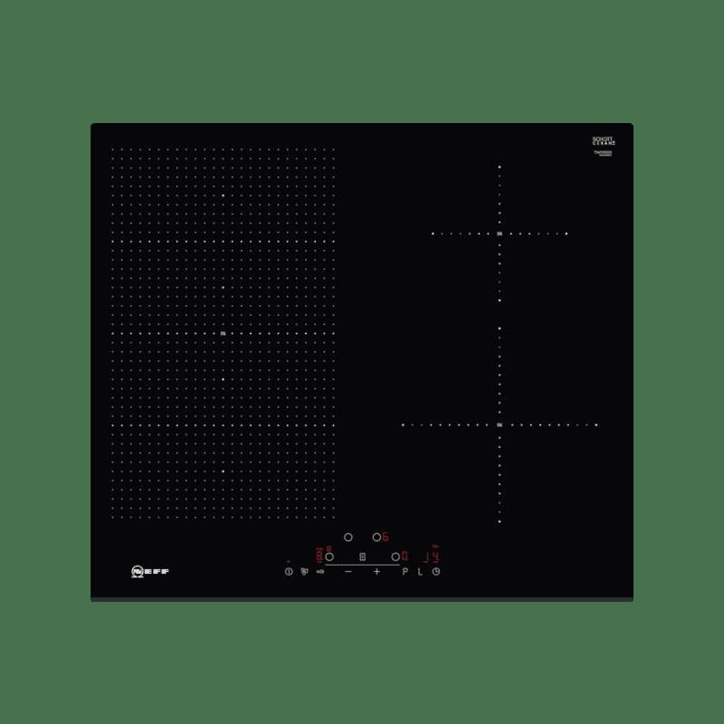 Neff H51xW592xD522 FlexInduction 4 Zone Hob - Black primary image