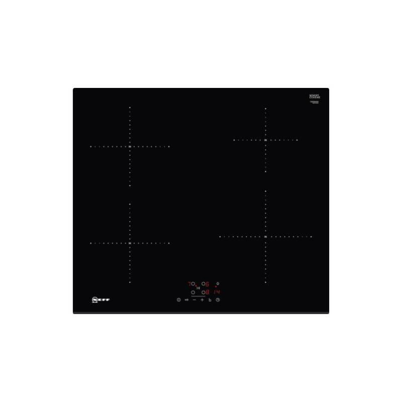 Neff H51xW592xD522 Induction 4 Zone Hob - Black primary image