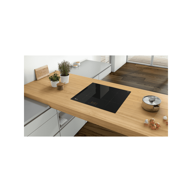 Neff H51xW592xD522 Induction 4 Zone Hob - Black additional image 1