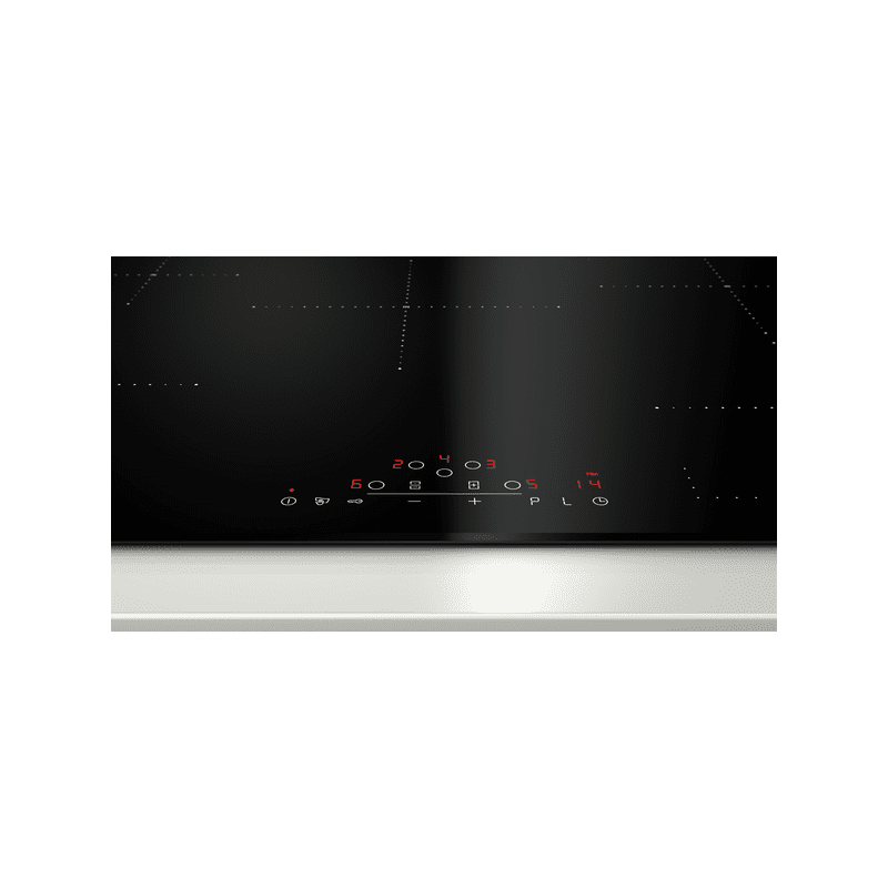 Neff H51xW802xD522 CombiZone Induction 5 Zone Hob - Black additional image 1