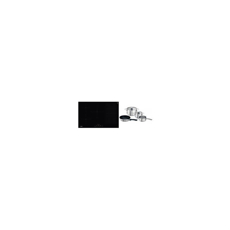 Neff H51xW802xD522 Flexinduction 5 Zone Hob - Black primary image