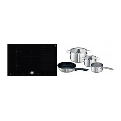 Neff H51xW802xD522 FlexInduction 5 Zone Hob - Black